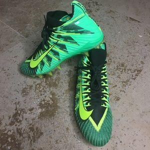 Nike alpha menace football cleats size 12